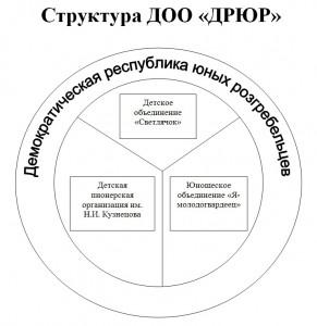СТРУКТУРА ДРЮР